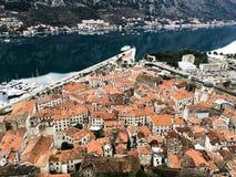 Παλαιά πόλη Kotor στο Μαυροβούνιο στοκ εικόνες με δικαίωμα ελεύθερης χρήσης