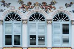 Παλαιά πόλη Phuket: Sino-Portuguese κτήρια αρχιτεκτονικής Αυτό το αρχιτεκτονικό ύφος είναι ευρωπαϊκά που αναμιγνύεται με κινεζικό στοκ φωτογραφία με δικαίωμα ελεύθερης χρήσης