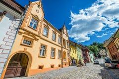 Παλαιά πόλη Sighisoara Στοκ Φωτογραφία