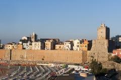 παλαιά πόλη termoli της Ιταλίας molise  στοκ εικόνες