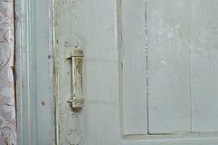 Παλαιά πόρτα, μάνδρα, τρύγος, χρώμα, λευκό, ταπετσαρία, σπίτι, δωμάτιο, ξύλινο Στοκ Φωτογραφία