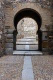 Παλαιά πόρτα, Τολέδο, Ισπανία Στοκ Εικόνα