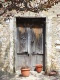 Παλαιά πόρτα, Arpino, Ιταλία Στοκ φωτογραφία με δικαίωμα ελεύθερης χρήσης