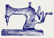 Παλαιά ράβοντας μηχανή διανυσματική απεικόνιση