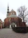 παλαιά Ρήγα Εκκλησία του ST Peter ` s Στοκ φωτογραφία με δικαίωμα ελεύθερης χρήσης