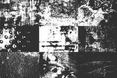 Παλαιά ραγισμένη σκουριασμένη σύσταση μετάλλων κινδύνου διανυσματική απεικόνιση