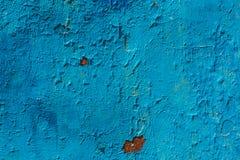 Παλαιά ραγισμένη φωτεινή μπλε σύσταση υποβάθρου χρωμάτων στοκ εικόνα με δικαίωμα ελεύθερης χρήσης