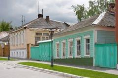 Παλαιά ρωσική πόλη Στοκ εικόνα με δικαίωμα ελεύθερης χρήσης