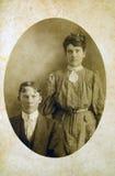 παλαιά σέπια πορτρέτου στοκ εικόνα με δικαίωμα ελεύθερης χρήσης