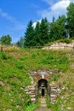 Παλαιά σήραγγα μεταλλείας Ορυχείο Μαυρίκιος κασσίτερου στοκ φωτογραφία με δικαίωμα ελεύθερης χρήσης
