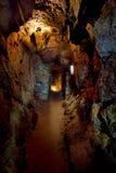 Παλαιά σήραγγα μεταλλείας Ορυχείο Μαυρίκιος κασσίτερου στοκ φωτογραφίες με δικαίωμα ελεύθερης χρήσης