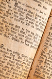 παλαιά σελίδα βιβλίων στοκ εικόνα