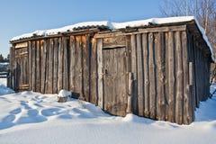 Παλαιά σιταποθήκη Στοκ Φωτογραφίες