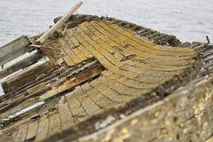 παλαιά σκάφη νεκροταφείων Στοκ Φωτογραφίες