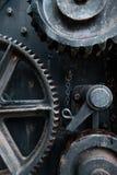 Παλαιά σκουριασμένη λεπτομέρεια εργαλείων Στοκ Εικόνες