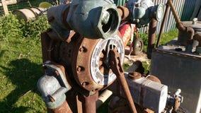 Παλαιά σκουριασμένη μηχανή Στοκ Φωτογραφίες