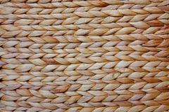 Παλαιά σπιτική ψάθινη σύσταση καλαθιών Στοκ Εικόνα