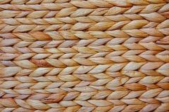 Παλαιά σπιτική ψάθινη σύσταση καλαθιών Στοκ Φωτογραφίες