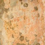 Παλαιά συγκεκριμένη χρωματισμένη μπεζ σύσταση τοίχων κρητιδογραφιών στοκ εικόνες με δικαίωμα ελεύθερης χρήσης