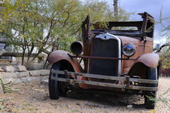 παλαιά συντρίμμια αυτοκι Στοκ Φωτογραφία