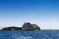 παλαιά συντρίμμια σκαφών Στοκ εικόνες με δικαίωμα ελεύθερης χρήσης
