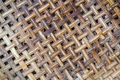Παλαιά σύσταση καλαθιών μπαμπού Στοκ εικόνα με δικαίωμα ελεύθερης χρήσης