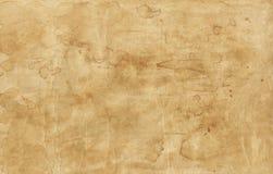 Παλαιά σύσταση καφετιού εγγράφου με τους λεκέδες Στοκ εικόνες με δικαίωμα ελεύθερης χρήσης