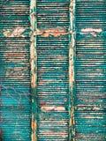 Παλαιά σύσταση παραθυρόφυλλων στοκ φωτογραφία με δικαίωμα ελεύθερης χρήσης