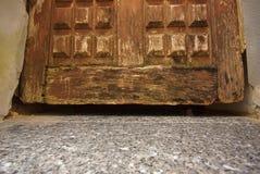 παλαιά σύσταση πορτών ξύλιν&eta Στοκ Εικόνες