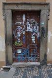 παλαιά σύσταση πορτών ξύλιν&eta Στοκ φωτογραφίες με δικαίωμα ελεύθερης χρήσης