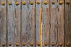 παλαιά σύσταση πορτών Στοκ Φωτογραφία