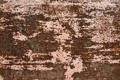 Παλαιά σύσταση σκουριάς σιδήρου μετάλλων Σύσταση υποβάθρου του οξυδωμένου χάλυβα Στοκ Φωτογραφία