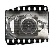 παλαιά σύσταση ταινιών φωτ&omi Στοκ Εικόνες