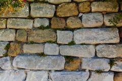 Παλαιά σύσταση τοίχων πετρών αστική, ταπετσαρία, πρότυπο σχεδιαστών Στοκ φωτογραφία με δικαίωμα ελεύθερης χρήσης
