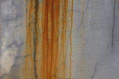 Παλαιά σύσταση τοίχων, σκουριά στο παλαιό υπόβαθρο τοίχων, σύσταση σκουριάς μετάλλων, υπόβαθρο μετάλλων αποσύνθεσης, σκουριασμένο Στοκ εικόνες με δικαίωμα ελεύθερης χρήσης