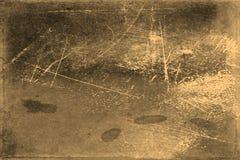 Παλαιά σύσταση φωτογραφιών με τους λεκέδες και γρατσουνιές Εκλεκτής ποιότητας και παλαιά έννοια τέχνης Μπροστινή άποψη του κενού  στοκ εικόνα με δικαίωμα ελεύθερης χρήσης