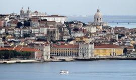 Παλαιά τέταρτα της Λισσαβώνας, Πορτογαλία Στοκ φωτογραφίες με δικαίωμα ελεύθερης χρήσης