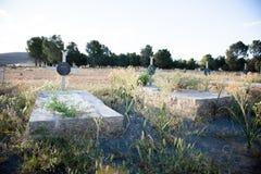 Παλαιά ταφόπετρα από τη στροφή του centrury στοκ εικόνες με δικαίωμα ελεύθερης χρήσης