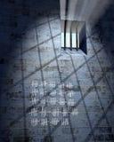 παλαιά φυλακή κυττάρων Στοκ Εικόνα