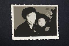 παλαιά φωτογραφία Στοκ εικόνες με δικαίωμα ελεύθερης χρήσης