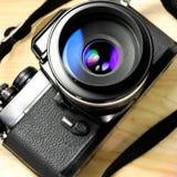 Παλαιά φωτογραφική μηχανή φωτογραφιών Στοκ Φωτογραφία
