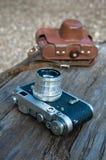 Παλαιά φωτογραφική φωτογραφική μηχανή Στοκ εικόνες με δικαίωμα ελεύθερης χρήσης