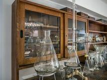 Παλαιά χημική τάξη Στοκ Φωτογραφίες