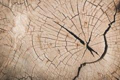 Παλαιά χρήση σύστασης κολοβωμάτων ξύλινη για το υπόβαθρο Στοκ εικόνες με δικαίωμα ελεύθερης χρήσης