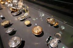 Παλαιά χρυσή και ασημένια τσέπη watchs Στοκ φωτογραφίες με δικαίωμα ελεύθερης χρήσης