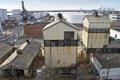 παλαιά όψη εργοστασίων Στοκ φωτογραφίες με δικαίωμα ελεύθερης χρήσης