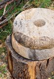 Παλαιά millstones χεριών Στοκ εικόνα με δικαίωμα ελεύθερης χρήσης