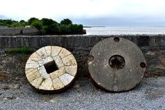 Παλαιά Millstones Στοκ Φωτογραφία