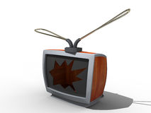 παλαιά TV ελεύθερη απεικόνιση δικαιώματος