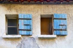 παλαιά Windows Στοκ εικόνα με δικαίωμα ελεύθερης χρήσης